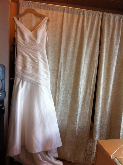 Mori Lee Ivory Taffeta 4507 Traditional Dress Size 6 (S)