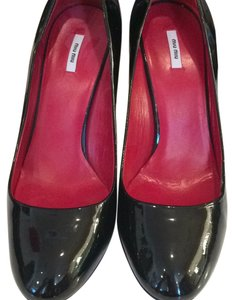 Miu Miu Blk/red Pumps