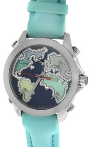 Jacob & Co. Jacob and Company Five Time Zone JC-M124 Accented Blue Dial Unisex Watch
