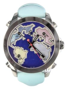 Jacob & Co. Jacob and Company Five Time Zone Accented Blue Dial Unisex Watch
