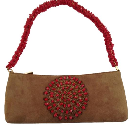 Preload https://img-static.tradesy.com/item/8514745/handbag-with-stone-embellishment-carmel-suede-baguette-0-2-540-540.jpg