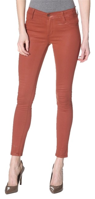 Item - Cinnamon Coated Twiggy Legging Skinny Jeans Size 29 (6, M)