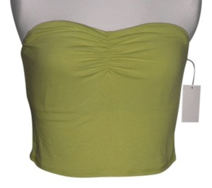 Wallflower Green Halter Top