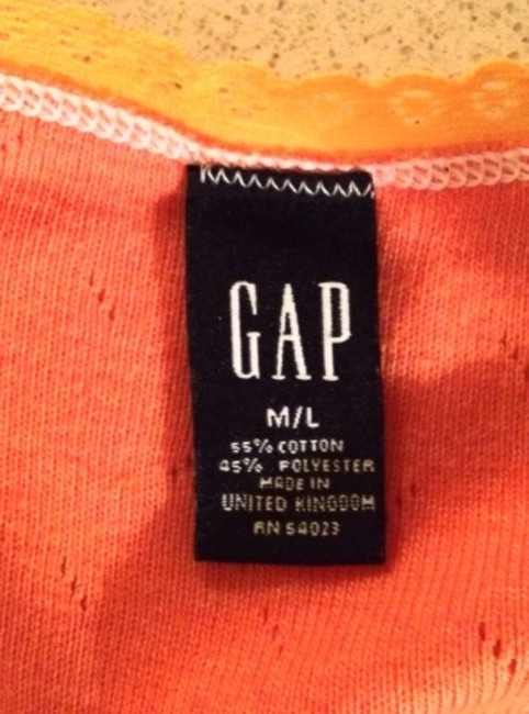 Gap Top Orange
