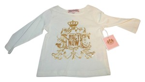 Juicy Couture Girls Infant T Shirt White