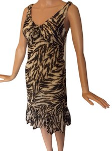 Talbots short dress Animal Print on Tradesy