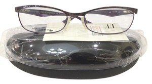 A|X Armani Exchange New Armani Exchange AX228 Color YPH Shiny Purple Metal Eyeglasses Frame