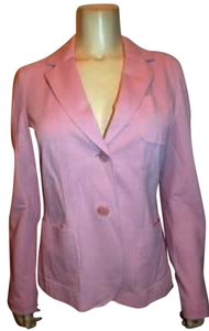 Talbots Size 8 Tailored Fit Jacket PINK Blazer