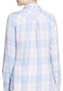 Rails Button Down Shirt Light pink/blue