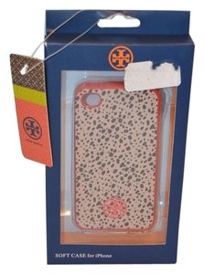 Tory Burch Tory Burch Wild Berry Classic Cheetah Print iPhone 4/4S Case-Brand New in Box