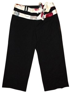 Other Pants Size 2 Silk P25 Capris BLACK, FUSCIA, PINK, WHITE