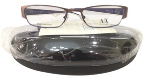 A|X Armani Exchange New Armani Exchange AX227 Color 0Y86 Rose/Purple Metal Eyeglasses Frame 50mm