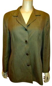 DUE PER DUE 100% Silk GOLDISH Blazer