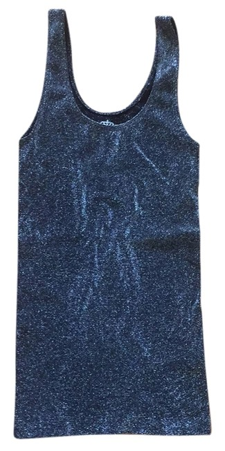 Preload https://img-static.tradesy.com/item/8517766/sugarlips-black-and-silver-sparkly-lurex-seamless-tank-topcami-size-os-one-size-0-2-650-650.jpg