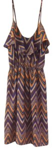 Daytrip short dress Multi Chevron on Tradesy