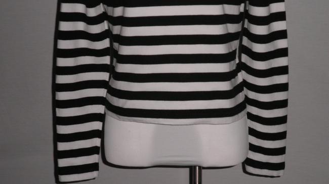 DKNY Top Black/White/Red