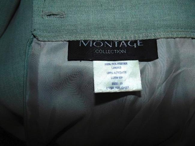 Montage MONTAGE COLLECTION SKIRT SUIT BLAZER SIZE 10 LIGHT GRAY P15 Image 7