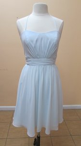 Alfred Angelo Powder 7383s Dress