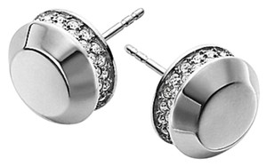 Michael Kors MICHAEL KORS ASTOR STUD SILVER EARRINGS