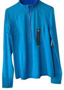 Xersion NWT Xersion Bright Blue Pull Over Athletic Top
