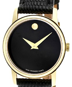 Movado Movado Trendy Ladies 'Collection' Yellow Gold Plated Quartz Watch
