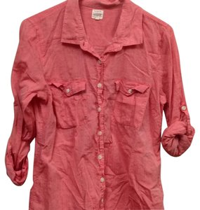 J.Crew Button Down Shirt light salmon