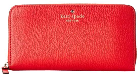 Preload https://item3.tradesy.com/images/kate-spade-red-leather-continental-new-with-tags-wallet-8520502-0-3.jpg?width=440&height=440