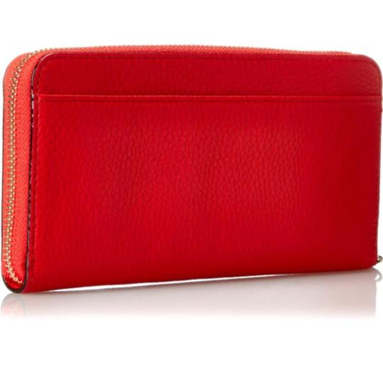 Kate Spade Kate Spade Red Leather Continental Wallet New With Tags