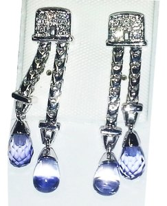 Di MODOLO Di MODOLO 18 Karat White Gold Earrings with Diamonds