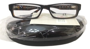 A|X Armani Exchange NEW Armani Exchange AX140 Color Q6C Grey Havana Plastic Eyeglasses