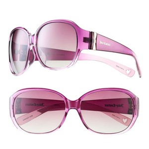 7be3595aa0f7b Juicy Couture Juicy Couture Kissez Square Sunglasses Pink Purple Gradient  Frames Brand New