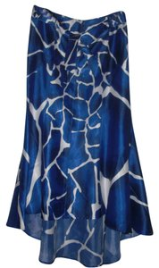 VENUS Maxi Skirt Blue and White