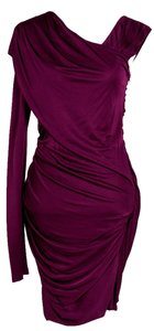 Alexander Wang short dress Purple Long Sleeve Mini on Tradesy