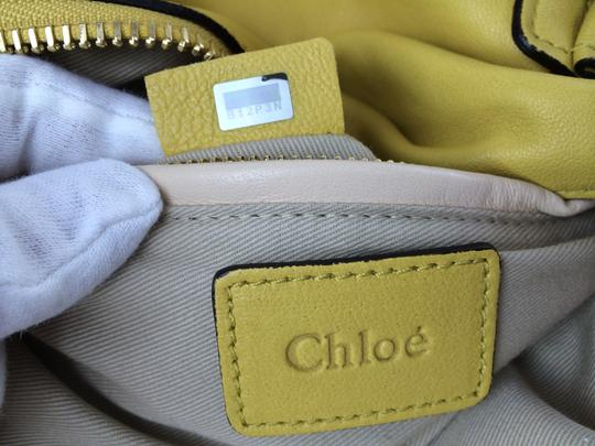 Chloé Leather Shoudler Paraty Satchel in yellow Image 5