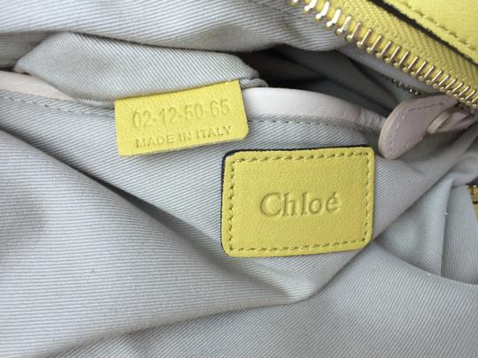 Chloé Leather Shoudler Paraty Satchel in yellow Image 6