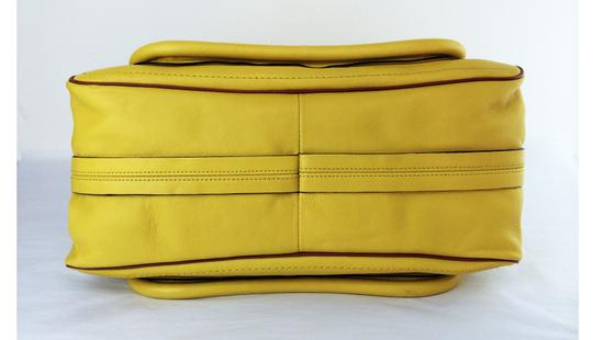 Chloé Leather Shoudler Paraty Satchel in yellow Image 8