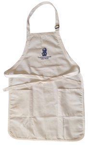 Other White Cotton Apron with The Ritz Carlton - Amelia Island Logo