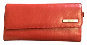 Kenneth Cole Reaction Red Large Snap Wallet