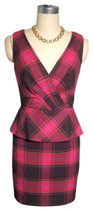 Trina Turk Tank Plaid Dress