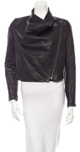 Helmut Lang Leather Lambskin Winter Fall Trendy Leather Jacket