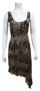 Rory Beca Silk Assymetrical Spring Dress