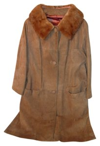 Other Vintage Leather Trench Coat