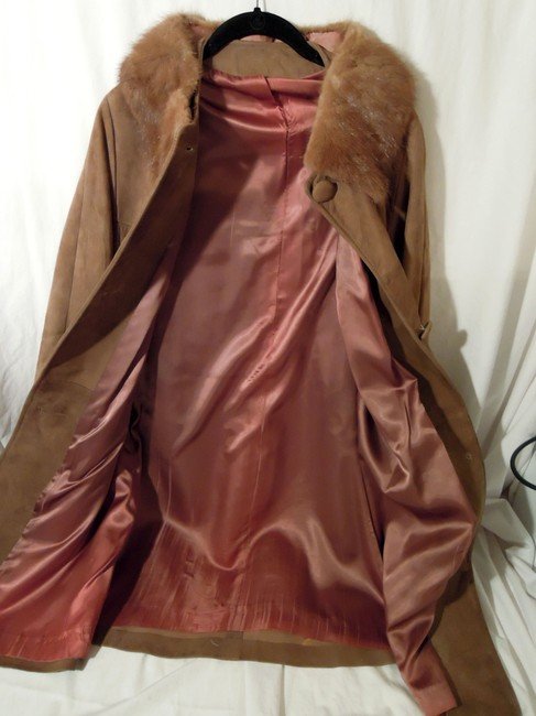 Other Vintage Leather Trench Coat Image 1