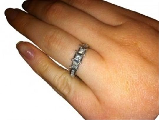 Other Diamond Ring 1/4 ct tw Princess Cut 14K White Gold