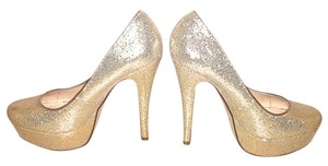 ALDO Heels Heels Jimmy Choo Jimmy Choo Jimmy Choo Heels Sequins Sequins Heels Saint Laurent Platforms Platforms Champagne Glittery Gold Pumps
