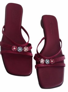 Brighton Roselie Red Sandals