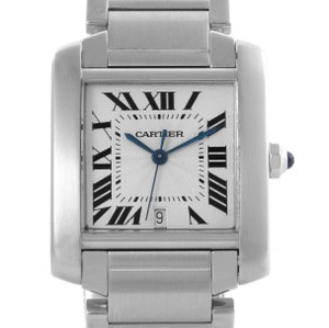Cartier Cartier Tank Francaise Automatic Silver Dial Large Watch W51002Q3