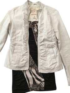 Arden B. Cream/White Blazer