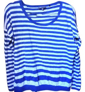 Vince Designer Celeb Couture Fashion Runway Striped Sweater