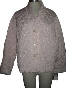 Dior Brocade Floral Lace Lace Trim Mother Of Pearl Baby Pink Jacket